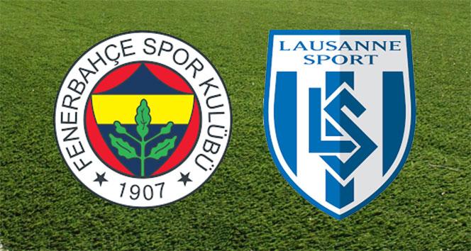 ÖZET İZLE: Fenerbahçe 1-2 Lozan maçı özeti ve golleri izle | FB, Lozan maçı kaç kaç bitti