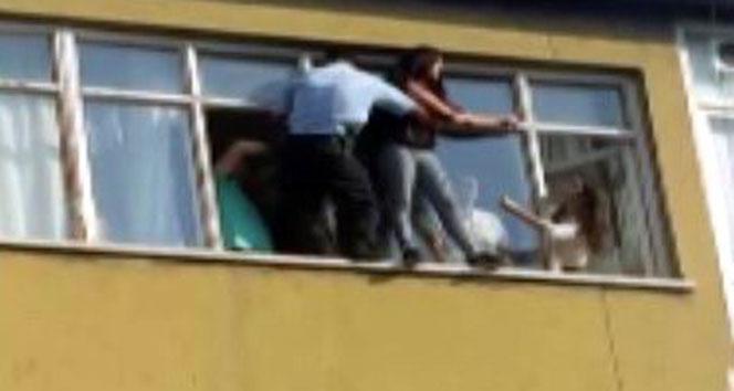 Polisten hayat kurtaran müdahale