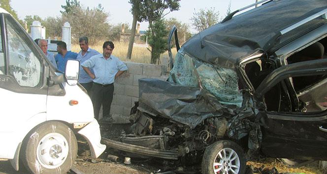 Gaziantep'te feci kaza: 1 ölü, 10 yaralı!