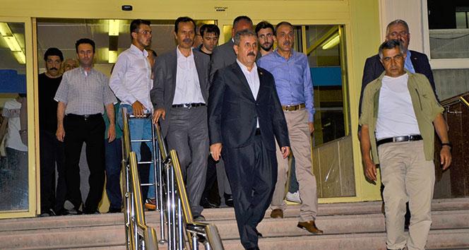 Mustafa Destici'nin ağabeyi kaza geçirdi