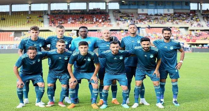 Fenerbahçe'den tatsız prova