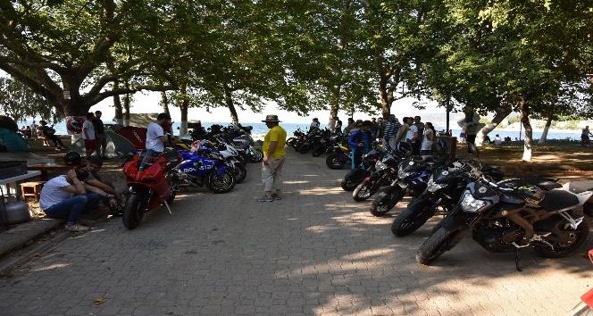 Eğirdir Motosiklet Festivali'ne yoğun ilgi