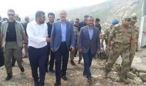 Bakan Soylu, 1 ayda 18 teröristin öldürüldüğü bölgeye gitti