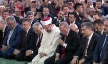 Başkan Erdoğan şehitler için Kur'an-ı Kerim okudu