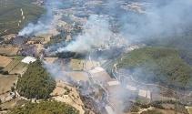 Tatil cennetinde orman yangını! Uçak ve 4 helikopter...
