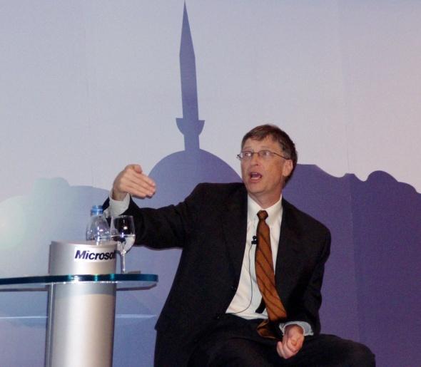 Bill Gates'in paylaşımında G.Saray sürprizi!