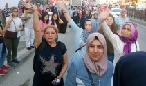 Kısıklıdan harekete geçen vatandaşlar köprüye akın ediyor
