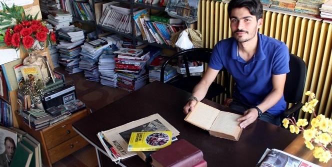 Çöpte bulduğu kitap hayatını değiştirdi
