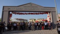 Osmaniyede Şehit Ömer Halisdemir Meydanı törenle açıldı