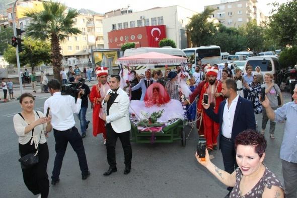 Görenler şaşkınlığını gizleyemedi! Fatih Sultan Mehmet'ten esinlendi...