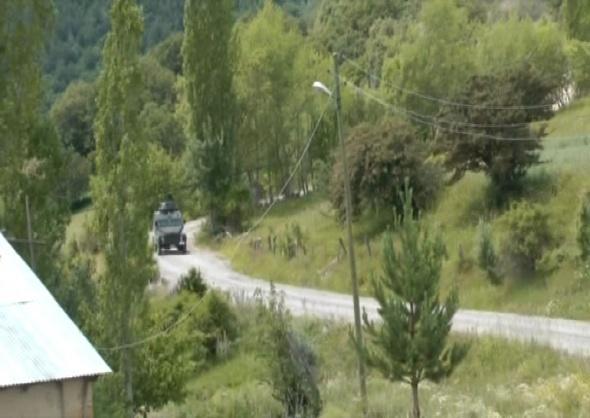 Gümüşhane kırsalında teröristlerle sıcak temas