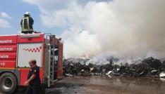 Osmaniyedeki yangın söndü