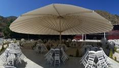 Türkiyenin en büyük şemsiyesi Gümüşhanede