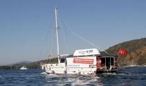 """CarrefourSA Mavi, """"Tekneye Ne Lazımsa"""" diyerek Göcekte denizde"""