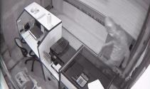 Kuyumcudaki hırsızlık güvenlik kamerasında