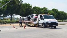 Osmaniyede trafik kazası; 2 yaralı