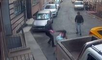 Kadınların yaşadığı kapkaççı dehşeti kamerada