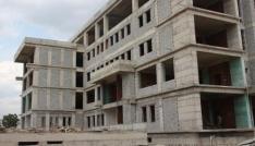 Kaya, il müdürlüğü hizmet binası inşaatını inceledi