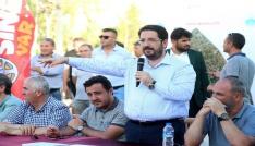 """Aksarayda 250 kişilik """"Başkan Mahallemizde"""" ekibi Fatih Mahallesinde"""
