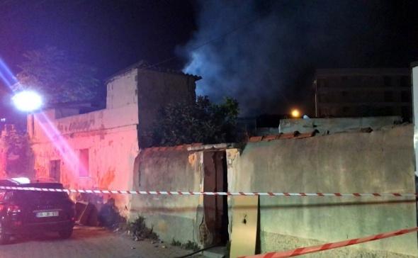 İzmir'de meydana gelen patlama mahalleliyi sokağa döktü
