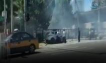 ABD'nin Pekin büyükelçiliği yakınlarında patlama
