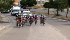 Yozgatta yüzlerce sporcu Türkiye Şampiyonası Yol Yarışlarında pedal çevirdi