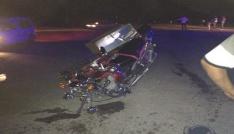 Osmaniyede trafik kazası: 1 ölü