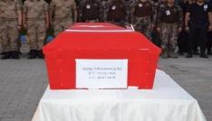 Şehit için cenaze töreni düzenlendi