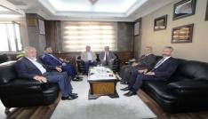 Diyanet İşleri Başkan Yardımcısı İşliyenden Başkan Memişe ziyaret