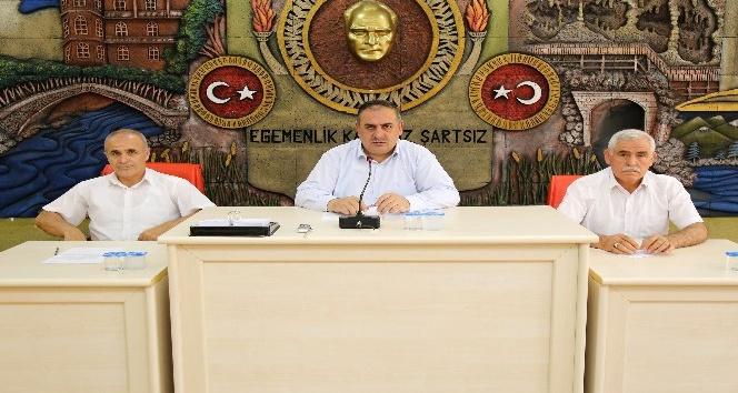 Gümüşhane İl Genel Meclisinin Ağustos ayı toplantıları başladı