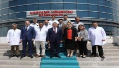 Vali Bilgin, Kırklareli Devlet Hastanesinde incelemelerde bulundu