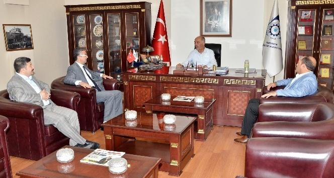 MHP Genel Başkan Yardımcısı Aydın'dan, ETSO'ya ziyaret