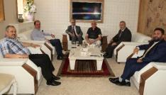 Diyanet İşleri Başkan Yardımcısı İşleyenden Rektör Coşkuna ziyaret