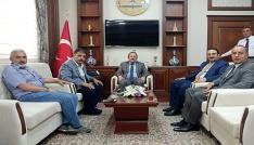 Bayburt Milletvekili Battal ve Adalet Komisyonu Başkanı Tacından Vali Pehlivana ziyaret