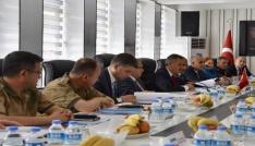 Ağrıda 86. Alt Güvenlik Komite toplantısı yapıldı