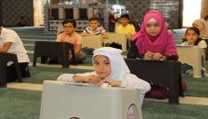 Akdağmadeninde yaz Kuran kursu bilgi yarışması düzenlendi