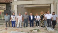 Vali Bilgin Kızılayın yeni binasının inşaatını inceledi
