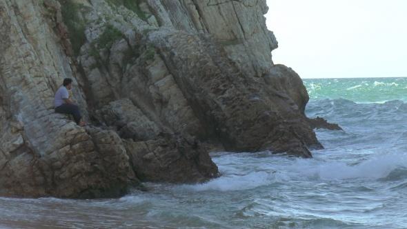 Deniz kenarında dehşet! Bir anda kayboldu...