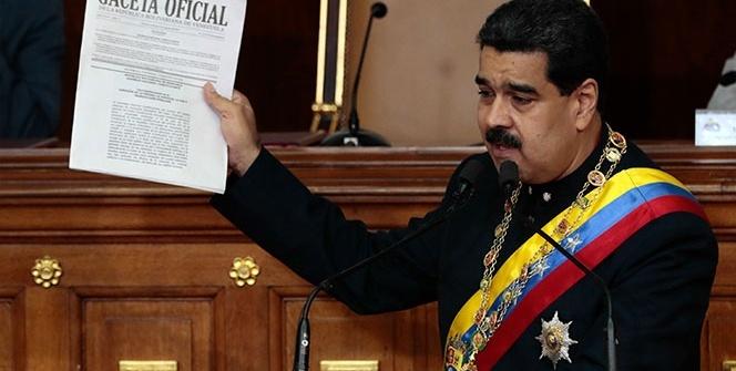Venezuela Devlet Başkanına suikast girişimi