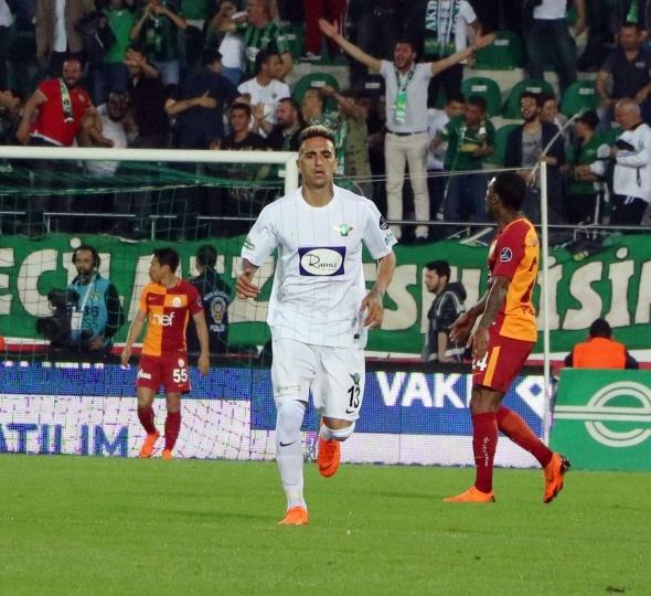 Galatasaray Akhisar Maç Ekranı
