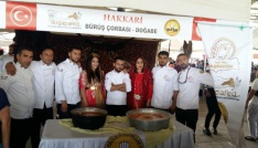 Hakkari Hakapad altın aşçı heykeli ödülü