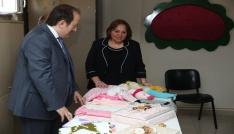 Vali Pehlivan Bayburtlu Kadınlar Derneğini ziyaret etti