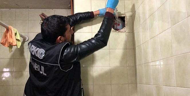 İstanbul'da narkotik operasyonunda polisi şoke eden düzenek
