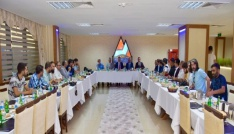 Vali Elban projeleri basın mensupları ile paylaştı