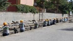 Dicle Elektrik, Fatih Mahallesinin çehresini güzelleştiriyor