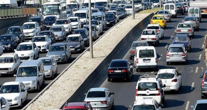 Erzurum araç varlığında yüzde 3.4'lük artış