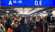 Frankfurt Havaalanı'nda alarm