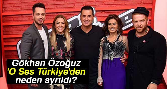 Gökhan Özoğuz 'O Ses Türkiye'den neden ayrıldı? |Gökhan Özoğuz'un koltuğuna hangi isim oturacak?