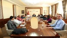 Küsi planlama ve geliştirme kurulu toplantısı Vali Pehlivan başkanlığında gerçekleştirildi