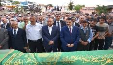 Trafik kazasında ölen tekniker için cenaze töreni düzenlendi